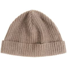 Portolano Ribbed Cashmere Stocking Cap (For Men and Women) - Save 47%