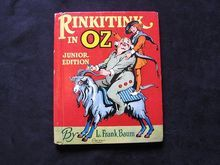 "1939 Frank Baum's ""Rinkitink in Oz"" Junior Rand Mcnally Book"