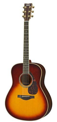 Yamaha LL16 Brown Sunburst RBSHC Spruce/Rosewood Acoustic Guitar - Alamo Music