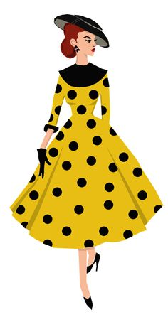 Style fashion illustration for Fanantique copyright lizzie lamb 2012 Vintage Fashion 1950s, Fashion Illustration Vintage, Illustration Mode, Vintage Mode, Retro Fashion, Trendy Fashion, Fashion Art, Illustrations, Fashion Design