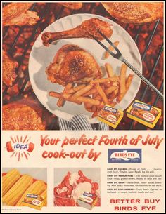 """Birds Eye Chicken...for """"your perfect Fourth of July cook-out"""""""