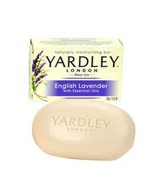 Yardley of London English Lavendar Soap - popular for scenting drawers but it is the perfect lavender fragrance.