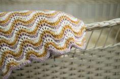 Wavy Cashmere Blanket by hadleyfierlinger, via Flickr