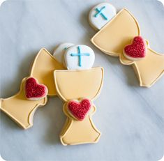 First Communion Cookies Tutorial ~ Bake at 350