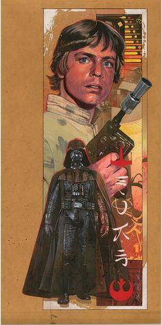 Luke, in Mark Raats's Star Wars Comic Art Gallery Room Star Wars Poster, Star Wars Art, Star Trek, All Star, Star Wars Luke Skywalker, Star Wars Comics, Darth Vader, The Empire Strikes Back, Love Stars