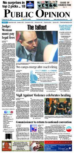 Front page April 27