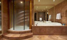 room 571 Carriage House, main room - Picture of The American Club, Kohler - Tripadvisor Kohler Wisconsin, Kohler Shower, Superior Room, Large Bathrooms, Five Star Hotel, Carriage House, Gas Fireplace, Trip Advisor, Indoor