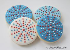 Crafty Cookies: Round 2: Fourth of July Cookies