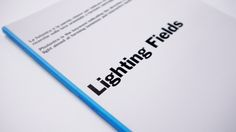 #LightingFields 4  All the #LightingFields are on our website. You will discover the #Light from different points of view : Arts, Physics, Design, Architecture, Nature, Technologies......
