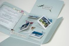 Wedding Invite  Amorgos, Greece    Wedding invitation for a marriage on the beautiful Greek island of Amorgos.