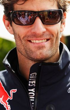 Mark Webber - Formula1 [Red Bull] driver...Mai has already claimed him as her own but I'm pinning him anyway...