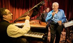 Pianist and Composer Danilo Pérez ~ Father and son are pictured above, in performance on Feb. 23 at the opening of Danilo's Jazz Club, within the American Trade Hotel in Panama City's historic Casco Viejo section. #Casco_Viejo #Culture #Jazz #Danilo_Perez