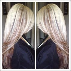 Hair Color Trends 2017/ 2018 - Highlights : Great color ... | Einfache Frisuren