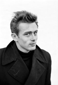 James Dean- Ooohhh that look! It's a bad boy look that speaks to lots of women!  He was a sexy man indeed...