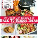 20 Great  Back To School Ideas