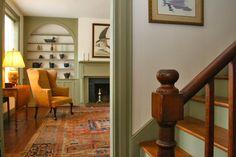 Historic Hollar House c.1840 - Newel Post