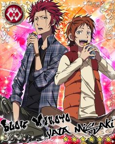 K: Project - Mikoto & Misaki Hot Anime Boy, I Love Anime, Anime Guys, Suoh Mikoto, Seven Knight, Return Of Kings, Project Red, Black Butler Anime, Another Anime