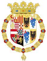 Coat of Arms of Philip II of Spain as Monarch of Milan (1558-1580)