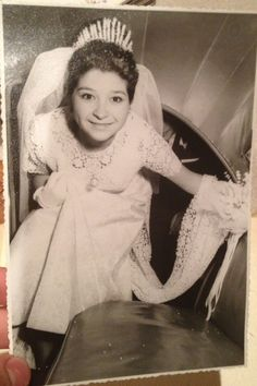 """""""My grandmother on her wedding day in Chile, circa 1965."""""""