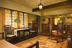 All Of These Interiors Are Based On Suggestions In Stickleys The Craftsman Magazine Photos By