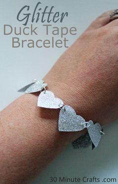 Glitter Duck Brand Craft Tape Bracelet