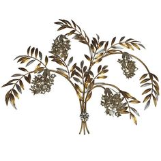 Wisteria Sconce with Four Lignts   From a unique collection of antique and modern wall lights and sconces at https://www.1stdibs.com/furniture/lighting/sconces-wall-lights/