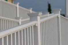 angled stair railings