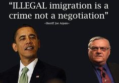 ....what part of illegal don't you understand??  What's wrong with LEGAL immigration for pete's sake!   He doesn't get it!!  :o/