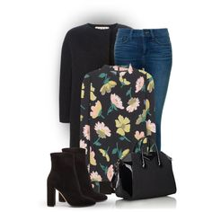 Dark floral! by bliznec on Polyvore featuring мода, Marni, NYDJ, Gianvito Rossi and Givenchy