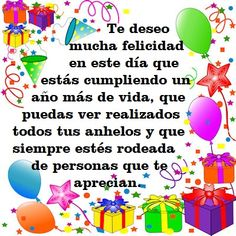 Spanish Birthday Wishes, Happy Birthday Notes, Happy Birthday Wishes Photos, Birthday Poems, Birthday Wishes Messages, Birthday Greetings, Happy B Day, Google, Birthdays