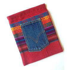 iPad 2-3 Sleeve Vintage Peruvian Woven by EthnicTextileGems