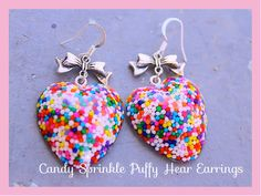 Sweet Satisfaction Candy Sprinkle Hearts n Bows by tranquilityy