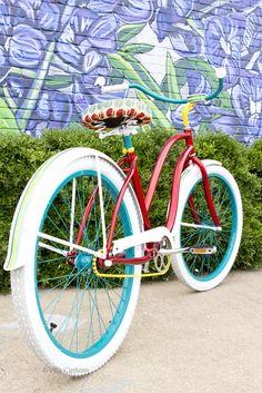 www.villycustoms.com   Luxury custom fashion beach cruiser bicycles