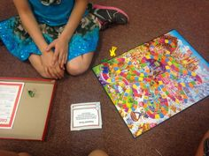 Using task card with board games! Fun! Perfect review for any subject.