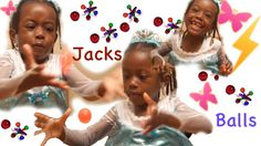 Having Fun Playing Jacks and Balls | Autty's World