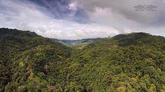 The valley of San Josecito de Osa near Uvita