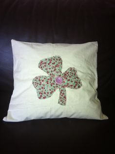 Our Shamrock Cushion from The Crafty Shamrock Bed Pillows, Cushions, Pillow Cases, Shabby Chic, Crafty, Knitting, Sewing, Crochet, How To Make