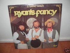 RYAN S FANCY - A TIME WITH RYAN S FANCY CANADA Lp nm w/LyricsInner Gaelic Irish
