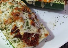 Italian Zucchini Yachts! Recipe -  Yummy this dish is very delicous. Let's make Italian Zucchini Yachts! in your home!