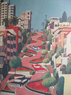 lombard street by lush bella, via Flickr