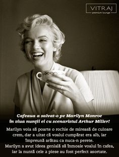 Marilyn si cafea- combinatia perfecta!