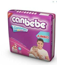 Canbebe New Born Mini -No:2 Avantaj paket, 3-6 kg arası bebekler için kullanıma uygundur.