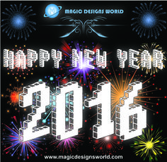 Happy New Year to All from Magic Designs World