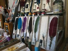 A calligraphy shop on Istiklal Street, I can't wait to buy a set and learn calligraphy, by Christopher Webb