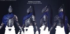 [WIP] Handpainted Artorias of the Abyss, Dark Souls Fan Art. Dark Souls Armor, Dark Souls Artorias, Soul Saga, Praise The Sun, Hand Painted Textures, Arm Armor, Texture Painting, Game Art, Roman