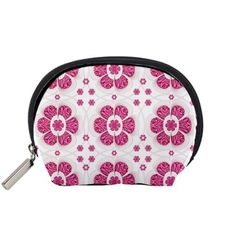 Sweety+Pink+Floral+Pattern+Accessory+Pouch+(Small)