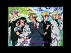 Hetalia Axis Powers - England's ending song (full) lyrics