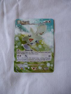 Painted Togetic Pokémon Card
