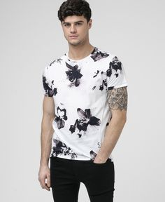 LILY TEE - WHITE - Tops - Clothing - Mens
