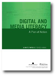 Digital and Media Literacy: A Plan of Action, a new policy paper by Renee Hobbs, Professor at the School of Communications and the College of Education at Temple University and founder of its Media Education Lab, proposes a detailed plan that positions digital and media literacy as an essential life skill and outlines steps that policymakers, educators, and community advocates can take to help Americans thrive in the digital age. PDF.
